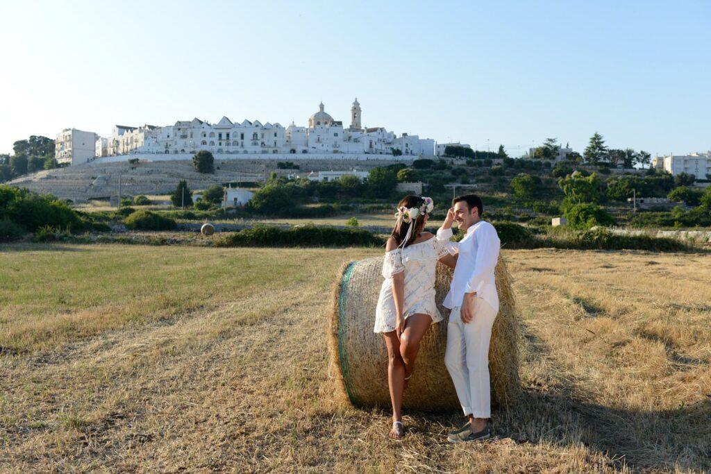 Lua de mel na Puglia Italia
